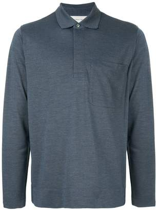 Cerruti long sleeved polo shirt