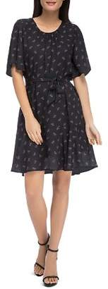 Bobeau B Collection by Alissa Printed A-Line Dress
