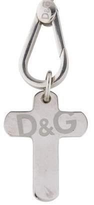 Dolce & Gabbana Etched Cross Pendant Necklace