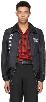Lanvin Black Symbols Jacket