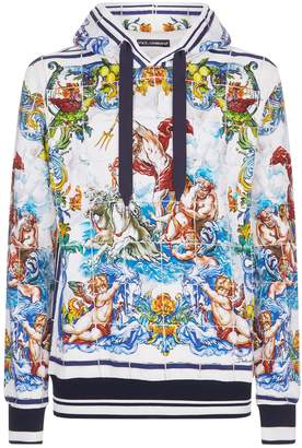 Dolce & Gabbana Majolica Hoodie