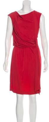 Diane von Furstenberg Tamara Draped Dress