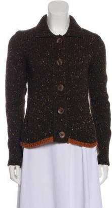 Akris x Bergdorf Goodman Cashmere Button-Up Cardigan