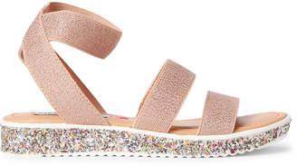 Steve Madden Kids Girls) Rose Gold Kimma Shimmer Strappy Sandals