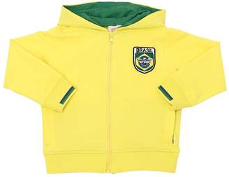 Armani Junior Brazil Soccer Team Cotton Sweatshirt