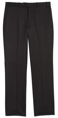 John W. Nordstrom R) Torino Flat Front Wool Gabardine Trousers