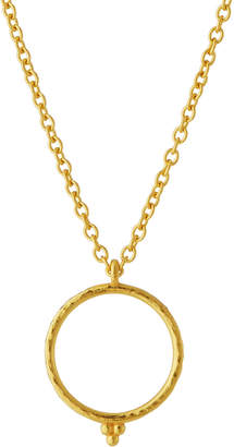 Gurhan Captive Circle Pendant Necklace