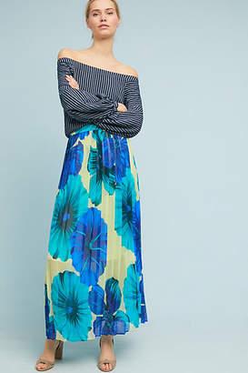 Eva Franco Terrarium Pleated Skirt