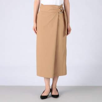 Tiara (ティアラ) - Tiara タスラン巻き風サッシュベルト付タイトスカート