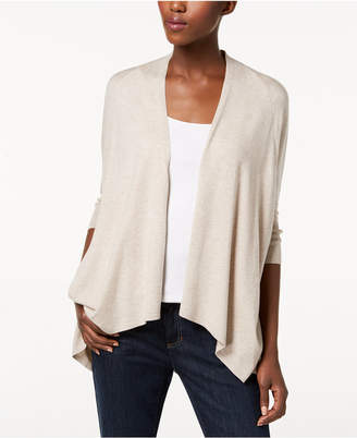 Eileen Fisher Tencel Draped Open-Front Cardigan