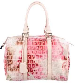 Fendi Bauletto Boston Bag