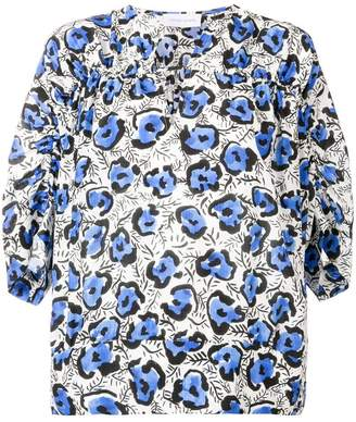 Christian Wijnants floral printed blouse