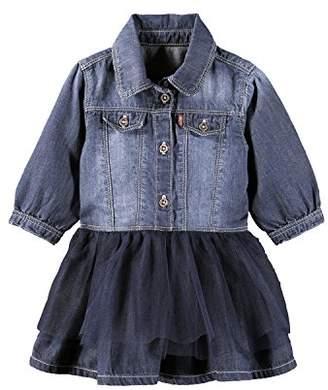 Levi's Baby Girls' Balleryn Party Dress,9-12 Months (Manufacturer Size: 9 Months)