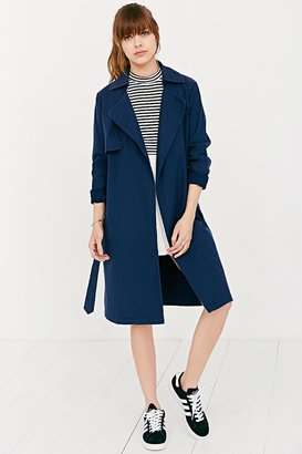 Shades Of Grey By Micah Cohen Lightweight Trench Coat $249 thestylecure.com