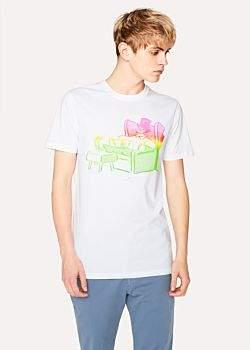 Paul Smith Men's Slim-Fit 'Dead Comfy' Print Cotton T-Shirt