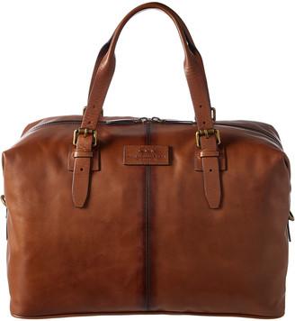 John Varvatos Heritage Leather Duffel Bag