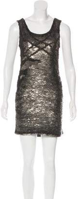 Blumarine Sequined Mini Dress