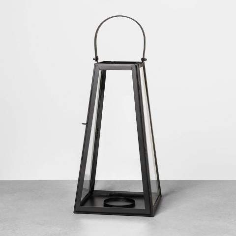 Hearth & Hand with Magnolia Metal Lantern Black - Hearth & Hand with Magnolia