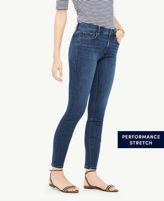 Ann Taylor Petite Curvy All Day Skinny Jeans in Mariner Wash