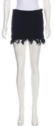 Alexis Mini Bouclé Skirt