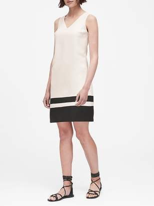 Banana Republic V-Neck Shift Dress