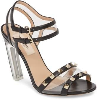 Valentino Moonwalk Rockstud Sandal