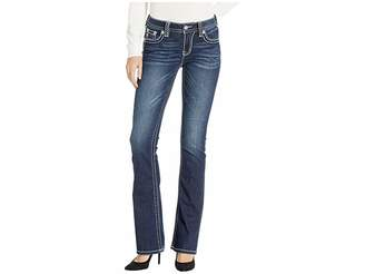 Miss Me Classic Bootcut Jeans in Dark Blue
