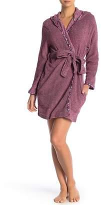 Jane & Bleecker New York Two-Tone Super-Soft Plush Robe