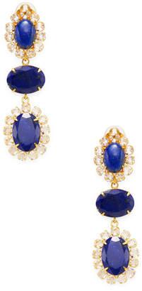 Bounkit Convertible Lapis Drop Earrings