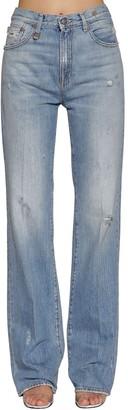 R 13 Colleen Cotton Denim Jeans
