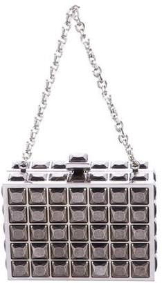Judith Leiber Studded Mini Handle Bag