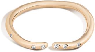 Shahla Karimi 14K Gold With Diamonds Subway Series Ring