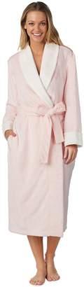 Stan Herman Women's Solid Plush Robe