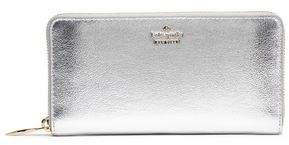 Kate Spade Highland Drive Metallic Leather Continental Wallet