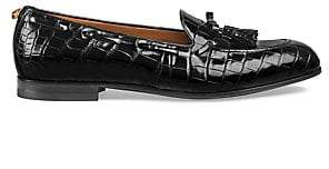 88babf3af9e Gucci Men s Crocodile Tassel Loafers
