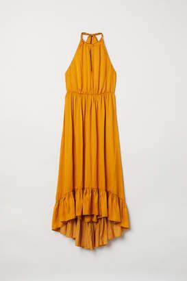 H&M Halterneck Dress - Yellow