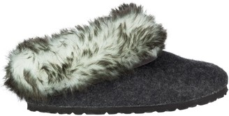 Birkenstock Kaprun Faux Fur Narrow Slipper - Women's