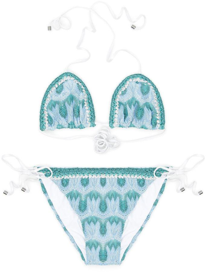 MissoniPrinted Bikini