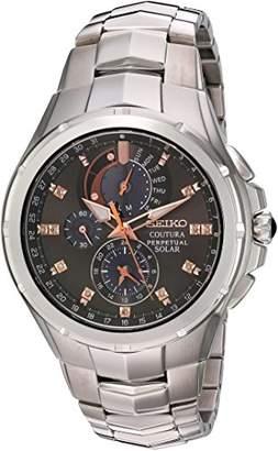 Seiko Men's 'Coutura' Quartz Stainless Steel Casual Watch