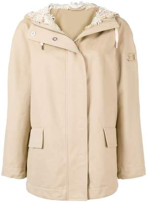 Ermanno Scervino hooded zipped jacket