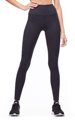 Good American Reflective High Waist Leggings