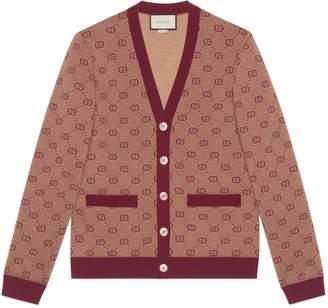 Gucci GG jacquard knit cardigan