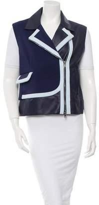 Viktor & Rolf Leather Vest w/ Tags