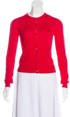 Prada Wool & Silk Blend Cardigan