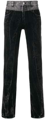 Givenchy layered denim jeans