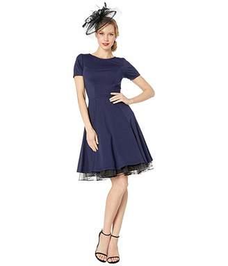 Unique Vintage Short Sleeve Margot Fit Flare Dress