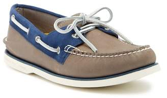 Sperry Gold Cup Leather & Suede Authentic Original Boat Shoe