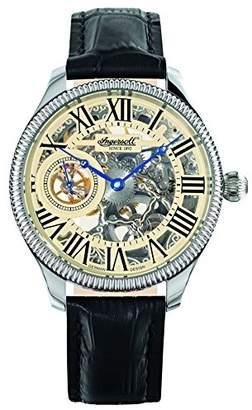 Ingersoll Men's IN7904WHS Arizona II Mechanical Timepiece Silver Skeleton Watch