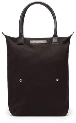 WANT Les Essentiels Ory Organic Cotton Foldable Tote - Mens - Black