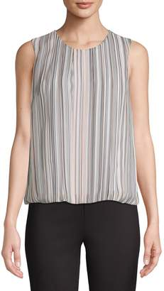 Calvin Klein Sleeveless Stripe Top